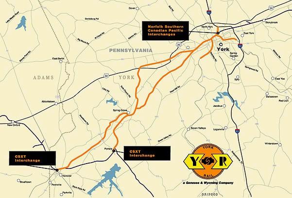 York Pennsylvania Railroads